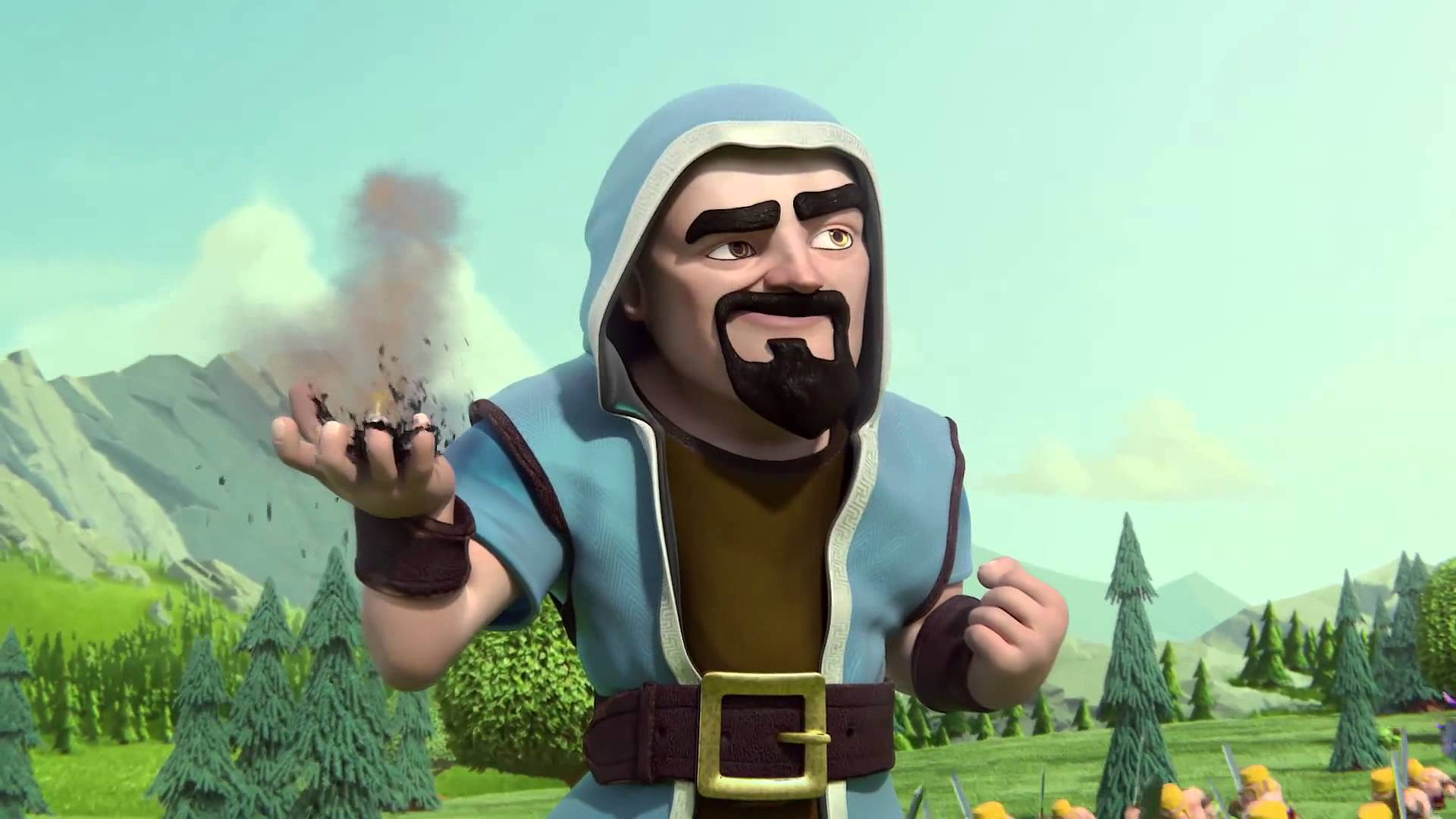 Clash of Clans Wizard Wallpaper | Full HD Pictures