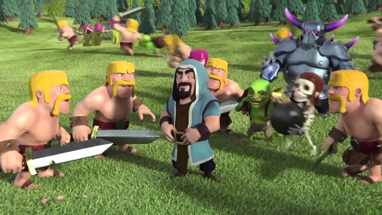 Clash of Clans Wizard Wallpapers | Full HD Pictures