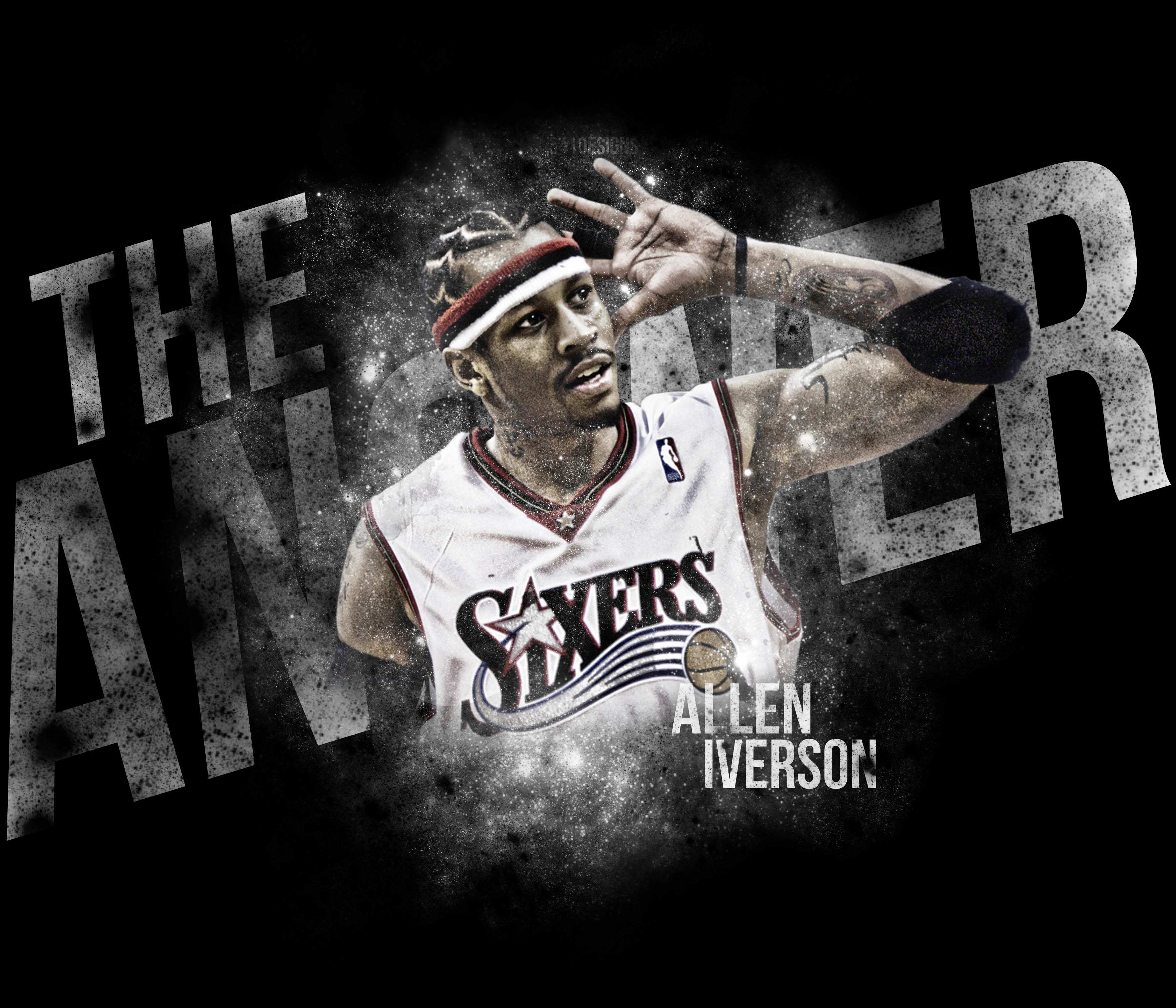 Allen Iverson Wallpaper Wp4201794 Source 86 Crossover Tags AI