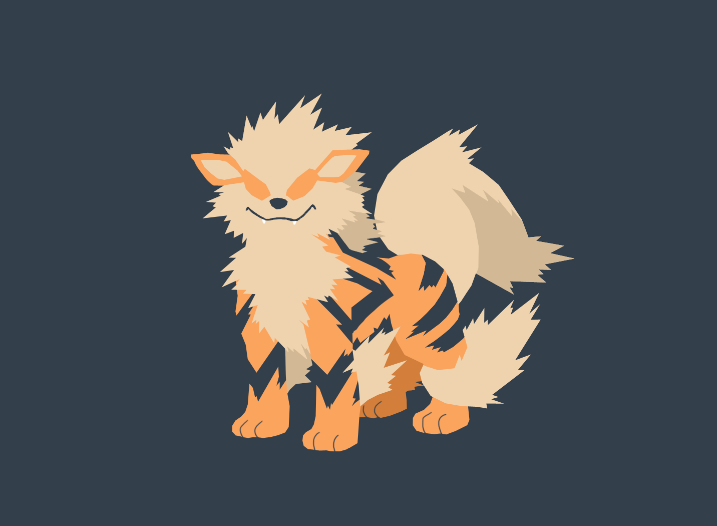 Arcanine Wallpapers HD | Full HD Pictures