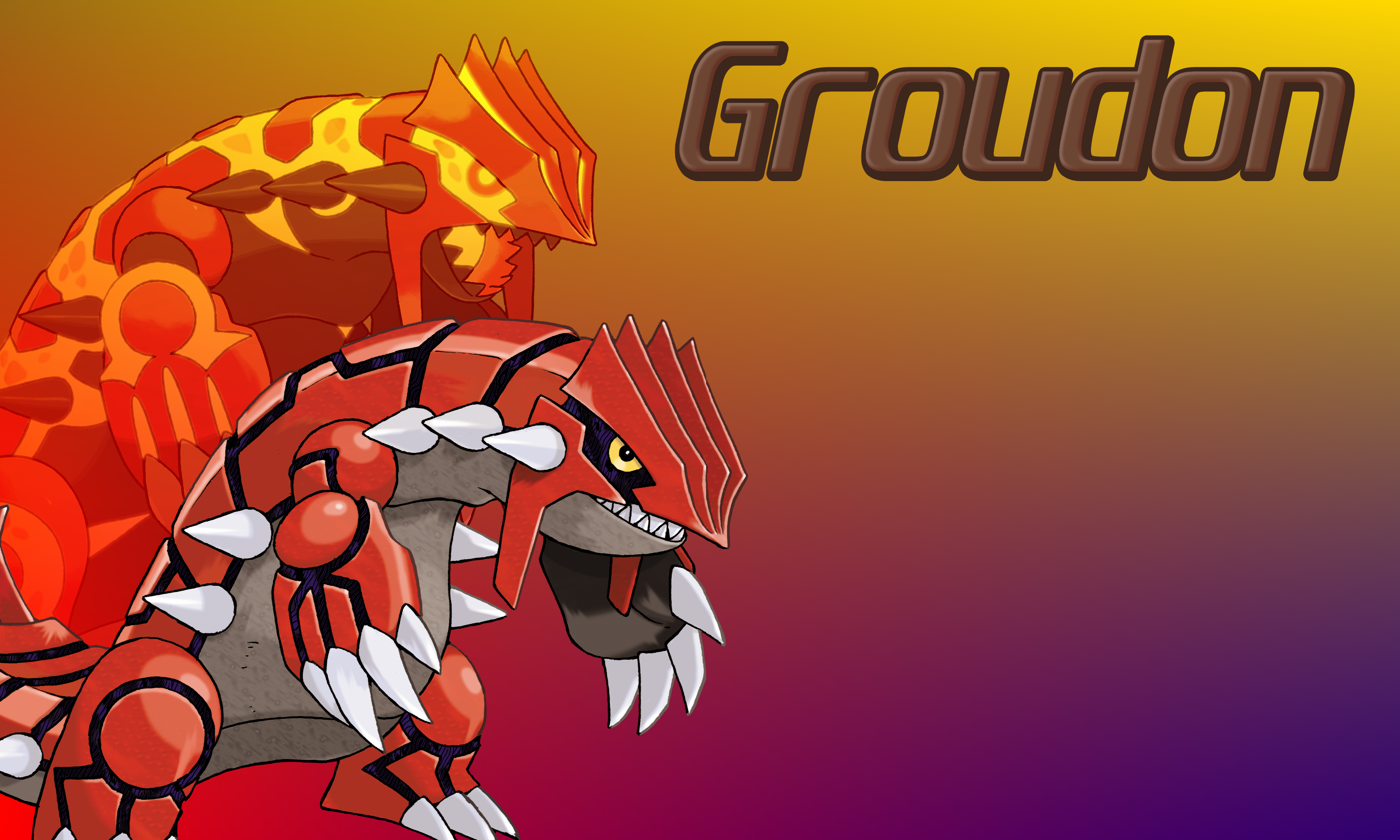 Groudon Wallpaper HD | Full HD Pictures