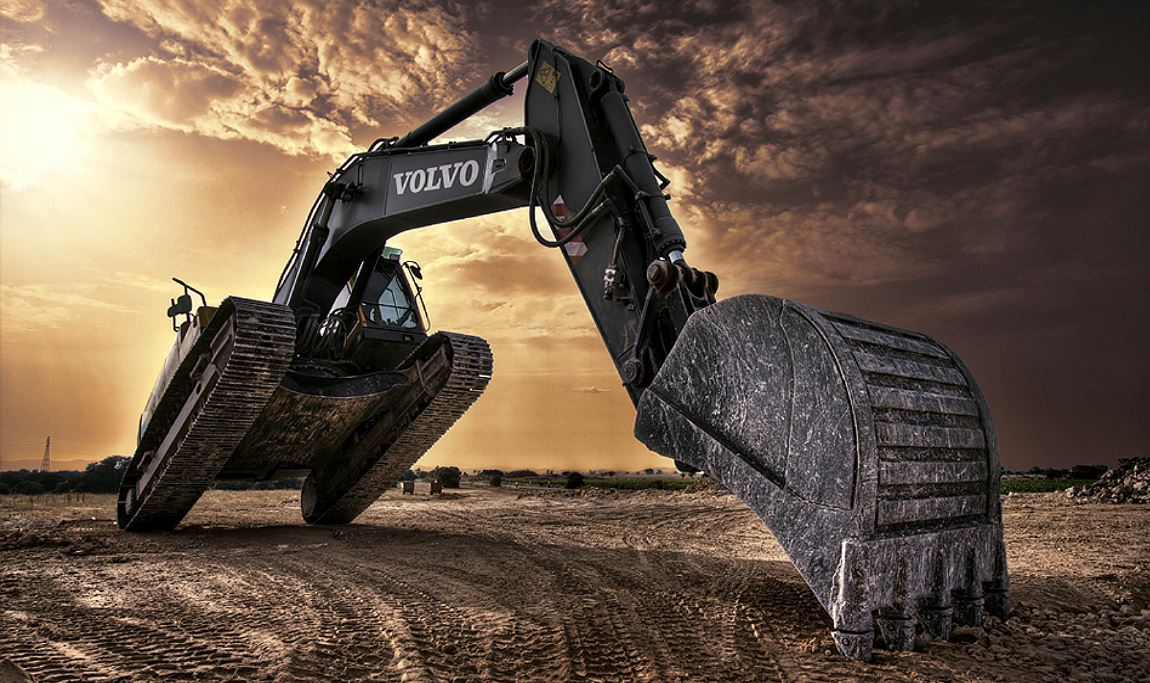 Excavator HQ Wallpapers