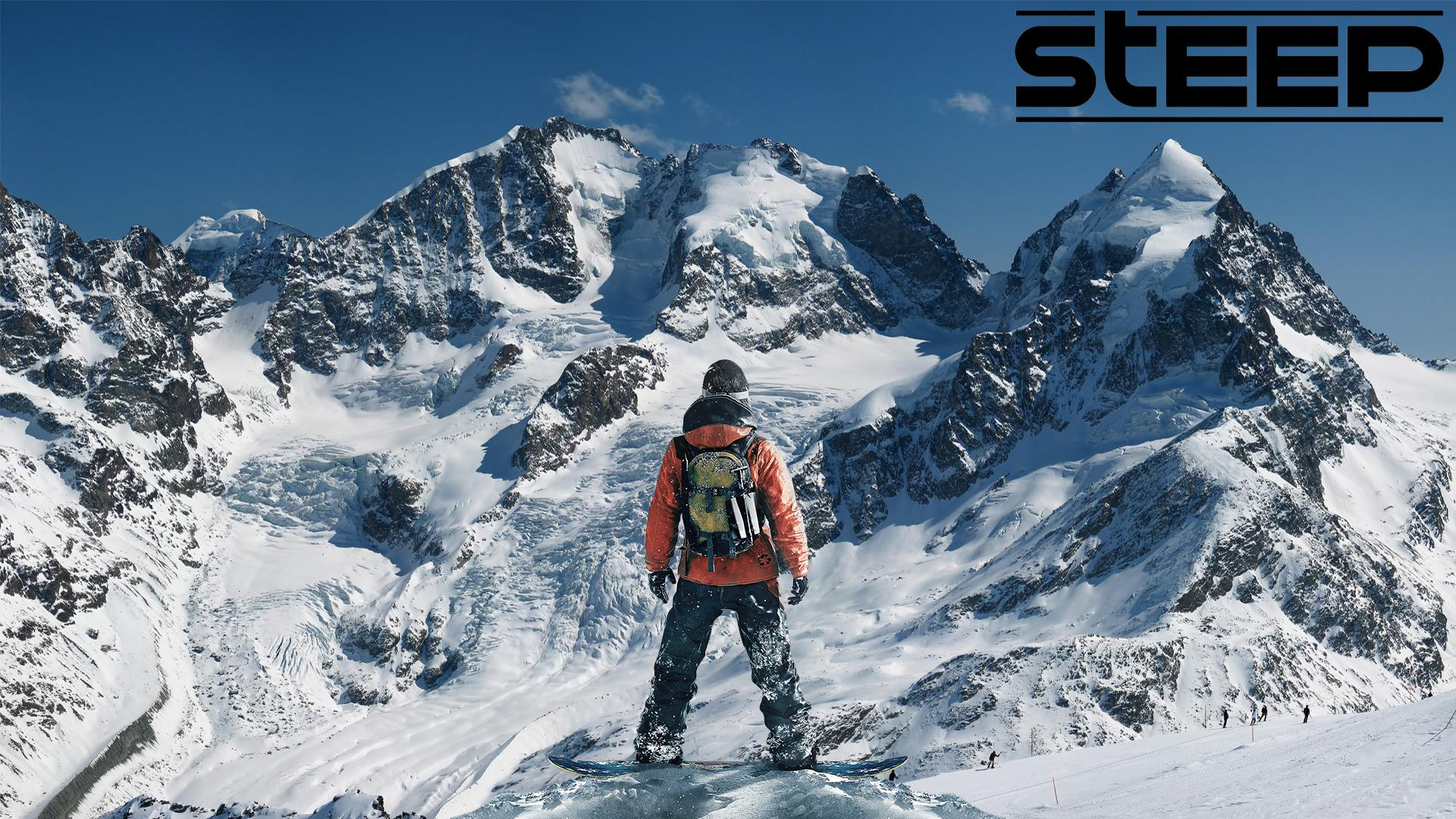 Steep Extreme Sport Game 4k Hd Desktop Wallpaper For 4k: Steep HQ Wallpapers