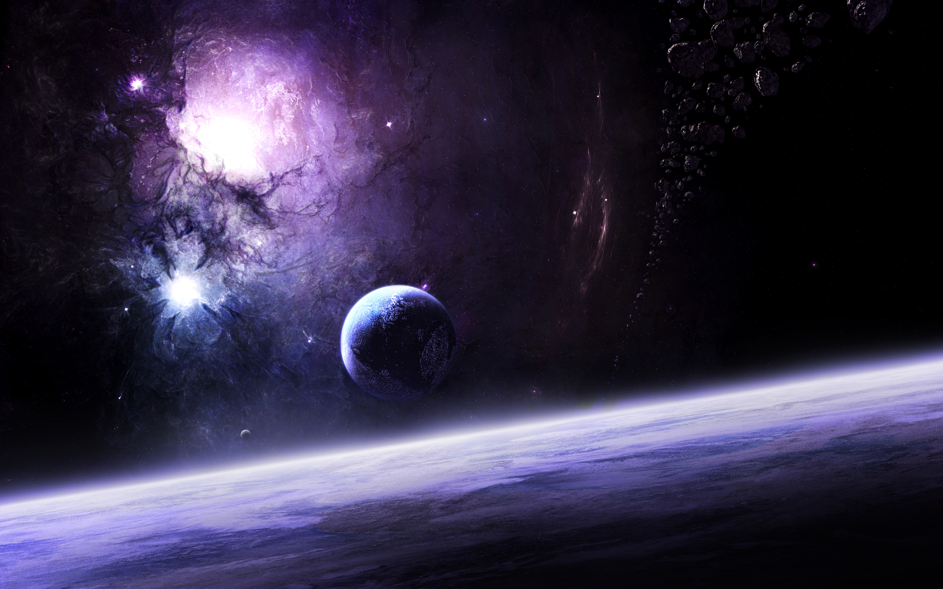 Space and Planets Wallpaper