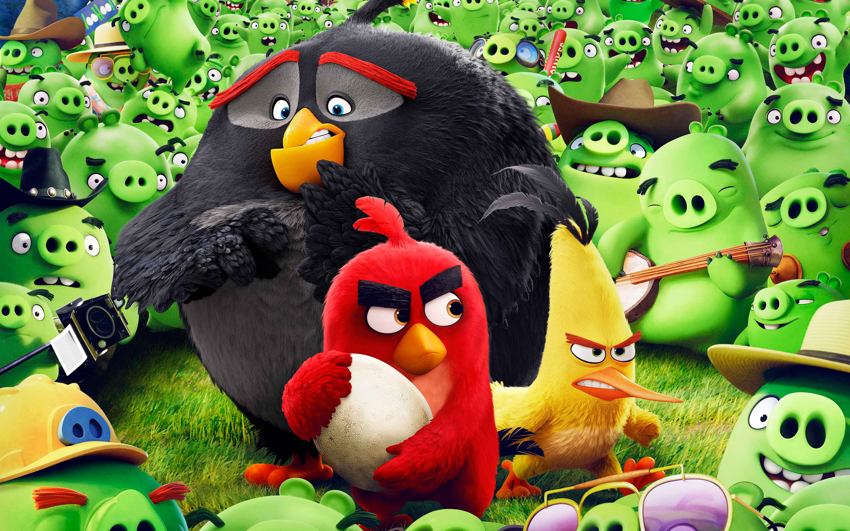 Angry Birds Wallpapers 4K