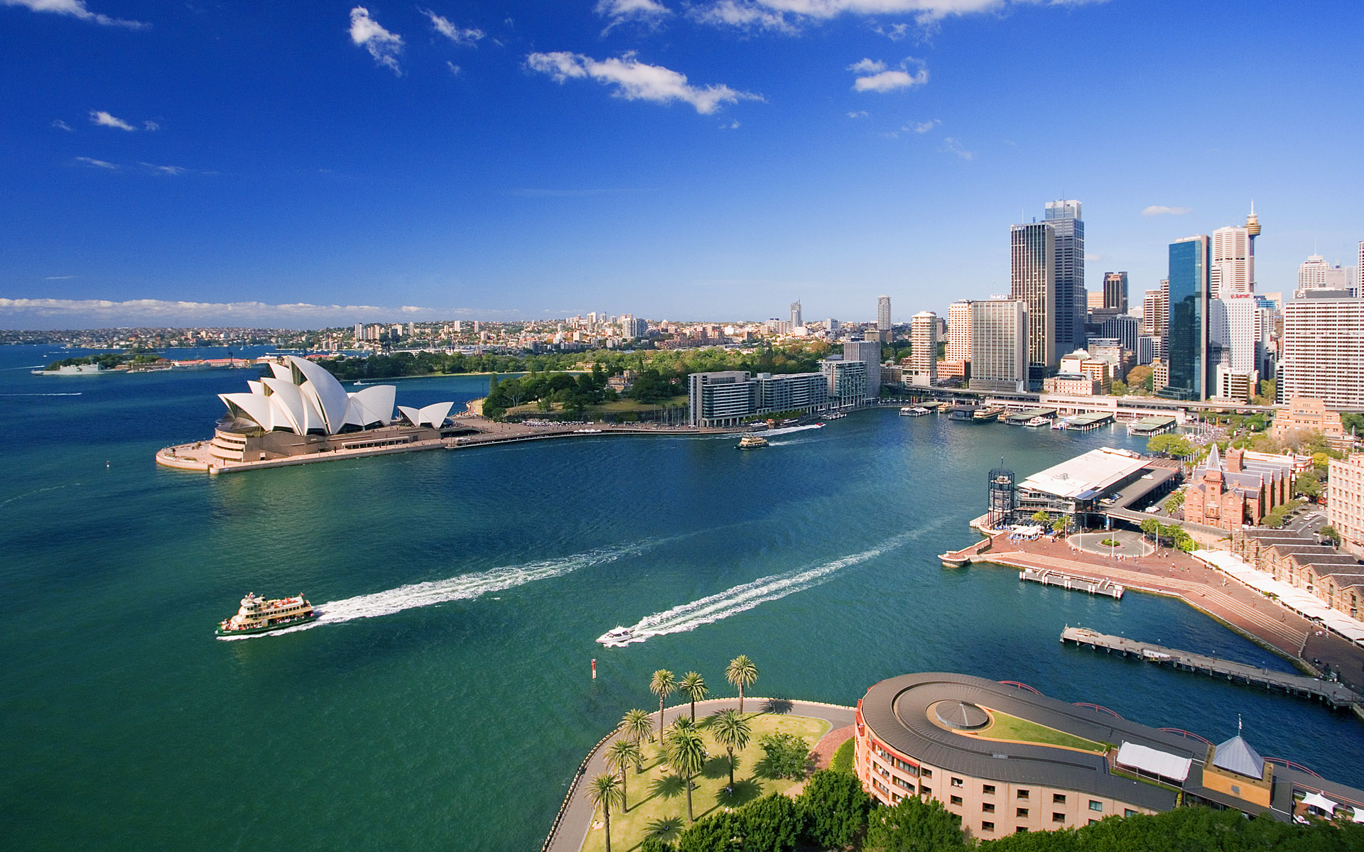 Australian Daytime View Backgrounds