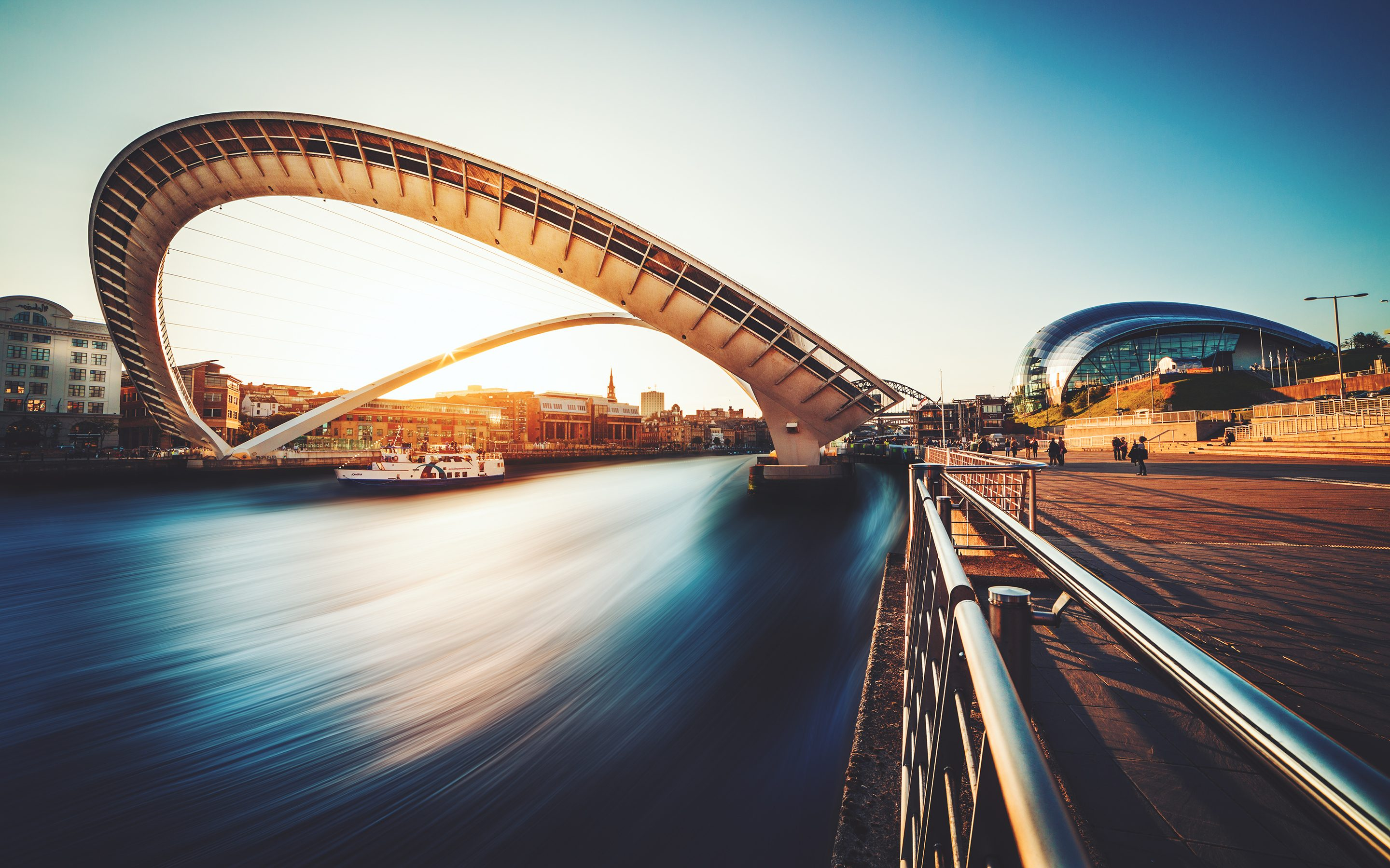 Gateshead Millennium Bridge Wallpapers