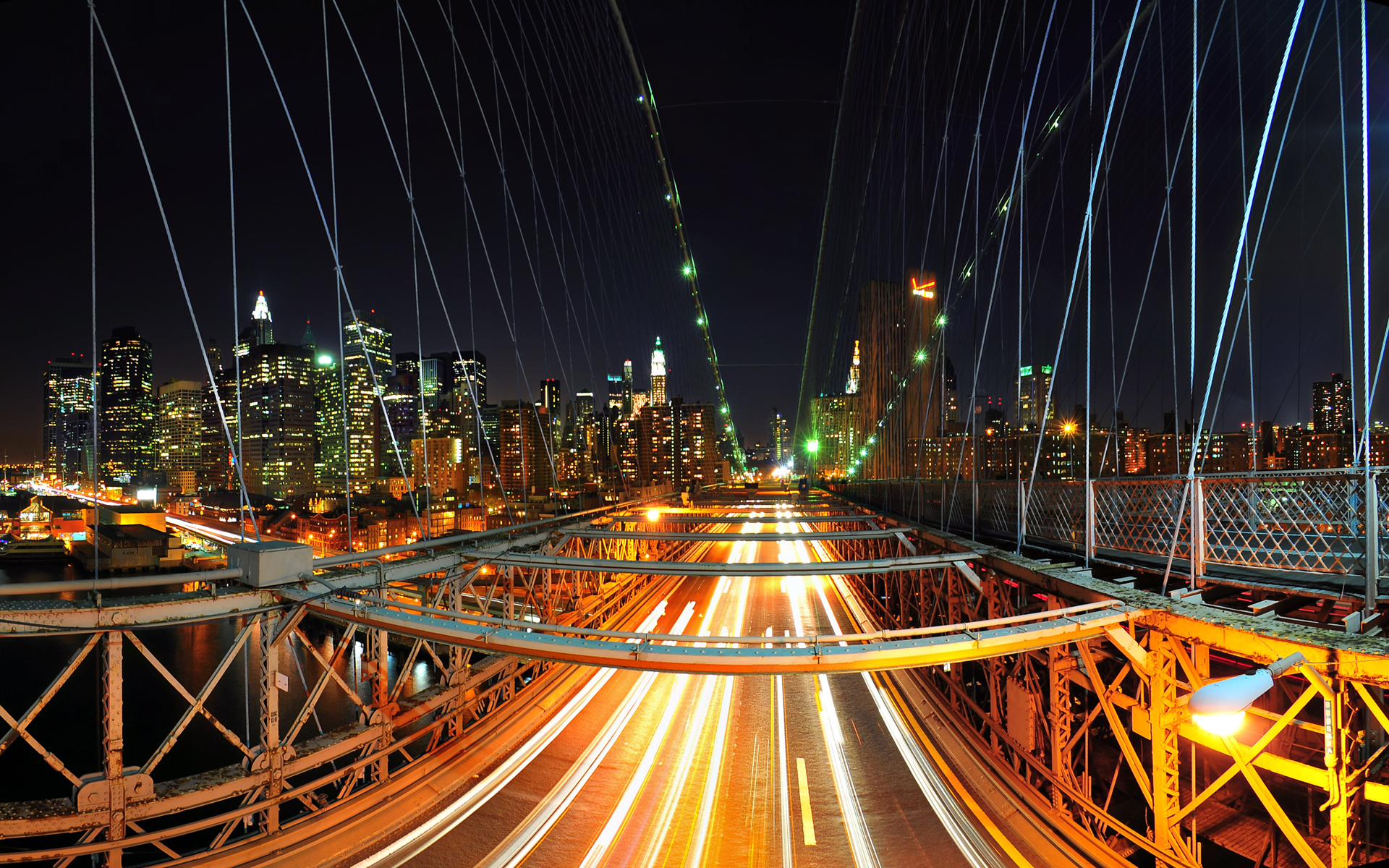 New York Nights View Wallpapers