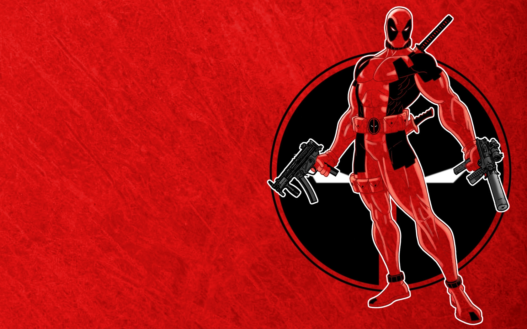 Red Deadpool Wallpapers