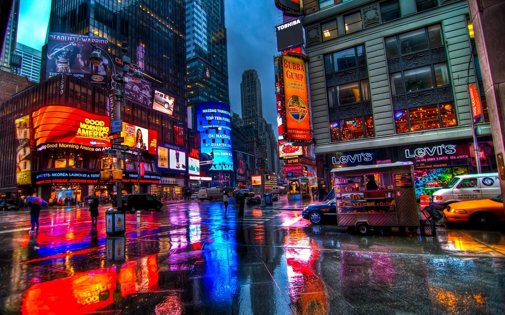 Times Square Wallpapers HD