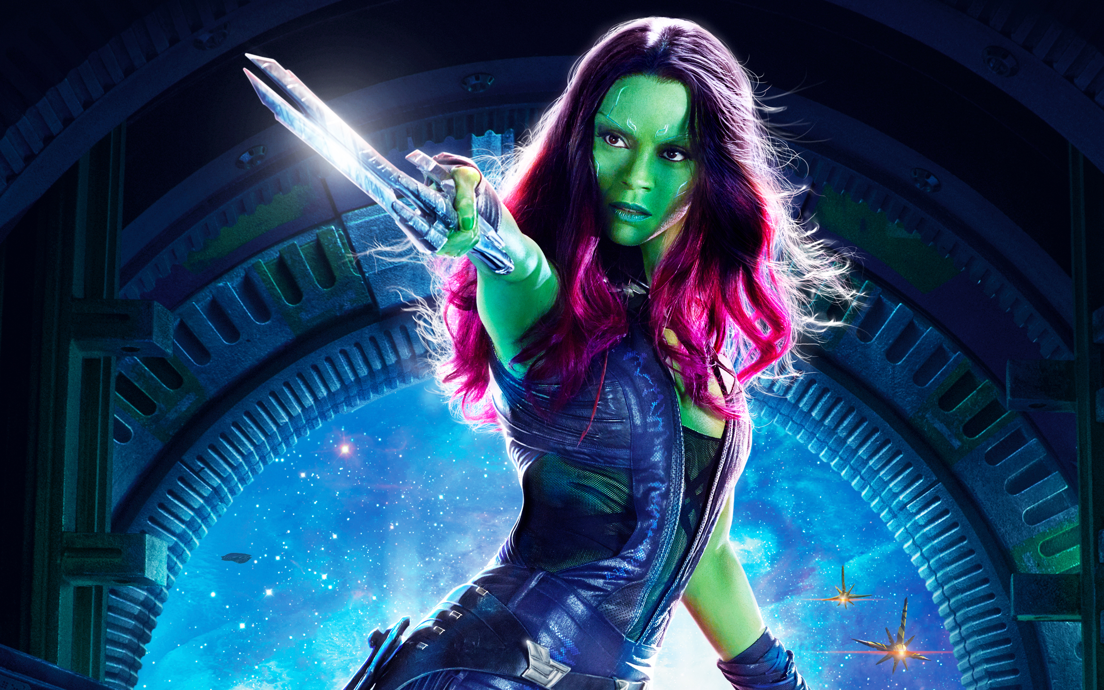 Gamora Guardians Of The Galaxy Vol 2 Wallpaper Full Hd Pictures