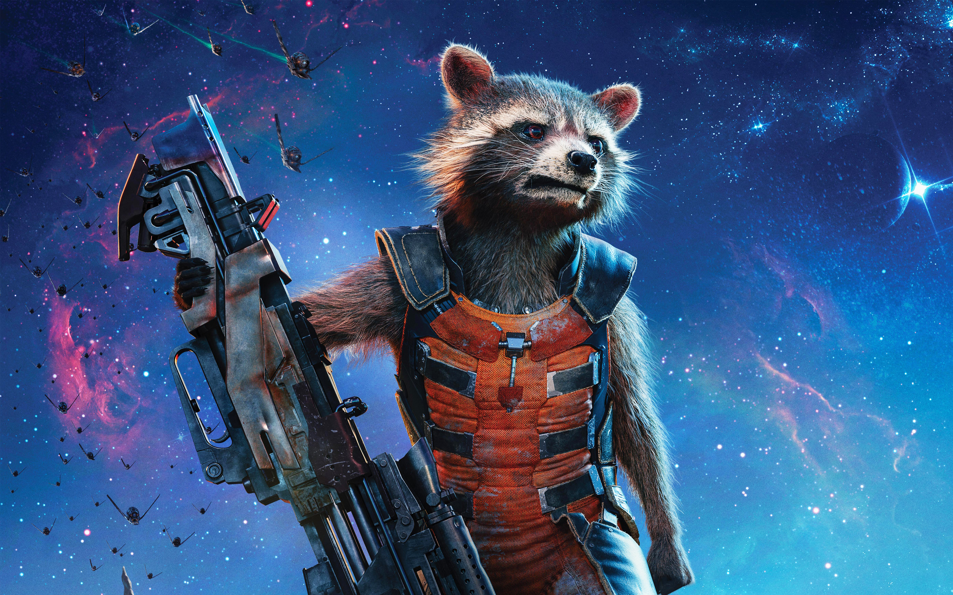 Rocket Raccoon Guardians Of The Galaxy Vol 2 HD Wallpapers