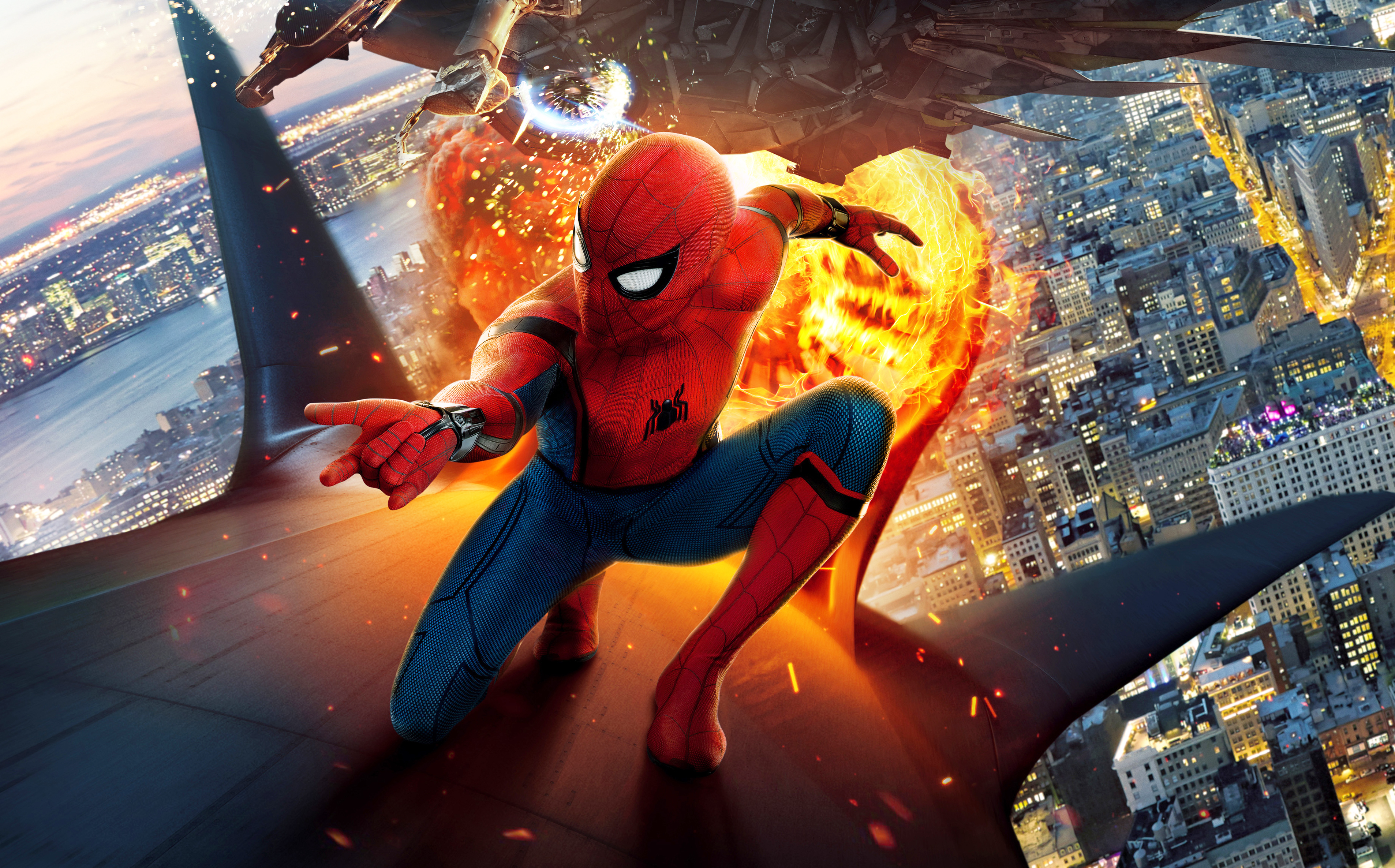 Spider Man Homecoming 4K HD Backgrounds
