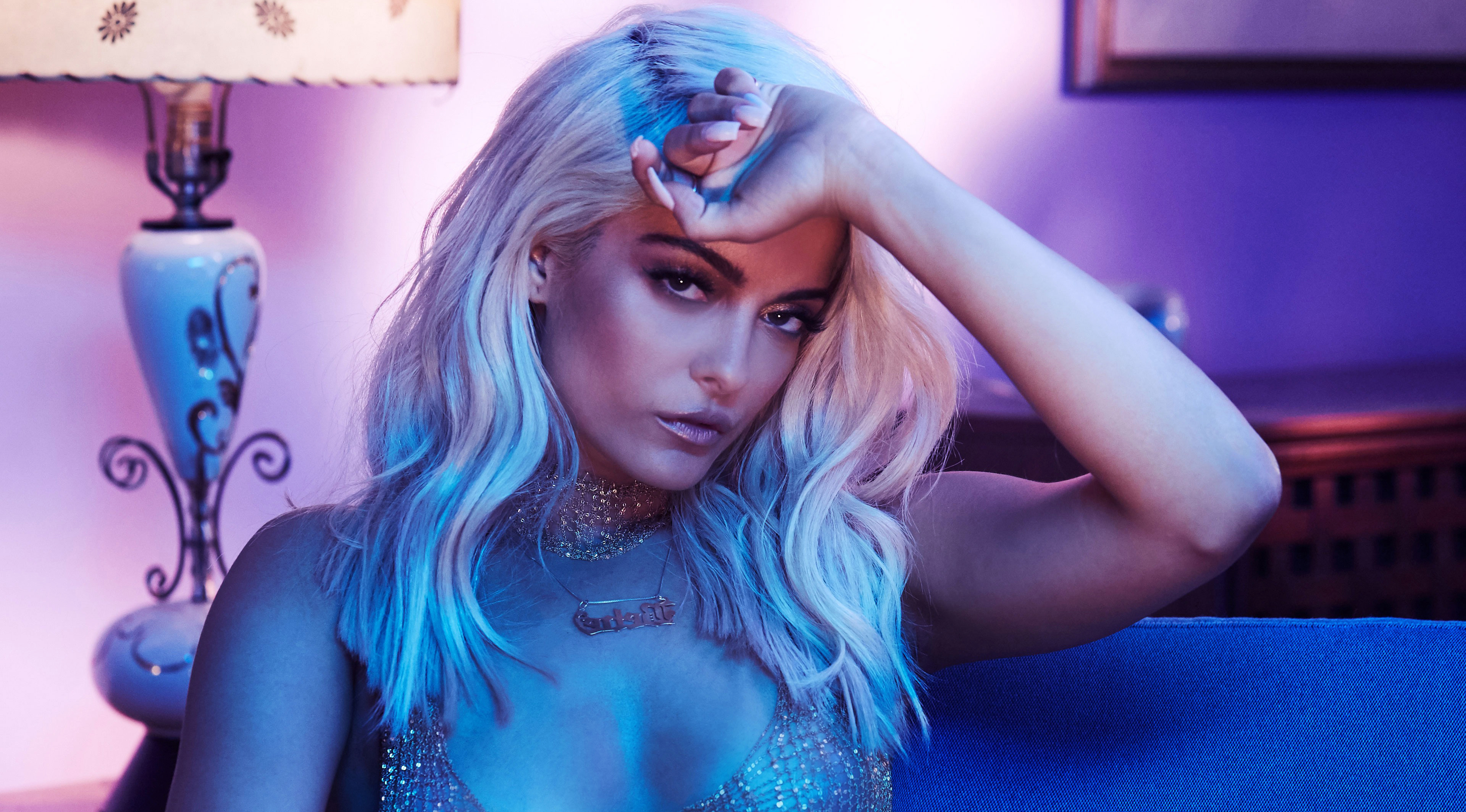 Bebe Rexha 4K Wallpaper HD